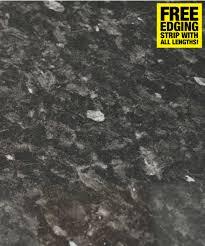 Black Slate Laminate Flooring Black Slate Gloss 40mm Laminate Kitchen Worktop Savoy Timber