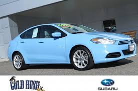 dodge dart rallye 2013 used 2013 dodge dart in auburn ca for sale 6937r