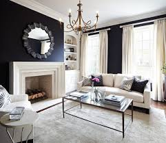 Black Living Room Curtains Ideas Uncategorized Glamorous Black Curtains Ideas In Amazing Navy