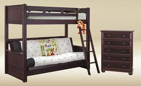 Heritage Twin Over Futon Bunk Bed - Twin over futon bunk bed with mattress