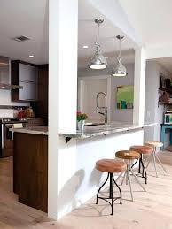 cuisine ouverte avec bar sur salon modale de cuisine ouverte magnifique photos de cuisine americaine
