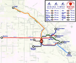 Boise Greenbelt Map Incubating An International Marketplace Urban Land Magazine