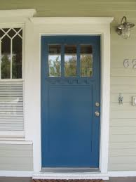 Blue Craftsman House by Christie Chase 362 Craftsman Bungalow Door