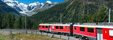Eurail Map Bernina Express Scenic Train Route Eurail Com
