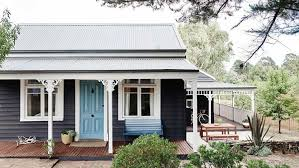 insideout cottage exterior daylesford exterior paint colours