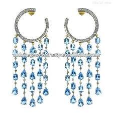 Designer Chandelier Earrings Designer Chandelier Earrings Sterling Silver Gold