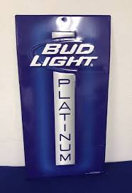 bud light metal sign bud light platinum metal sign 29 tall collectibles in ocala fl