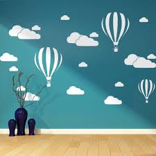 cloud wall stickers 31pcs set 0022 wallstickersart com cloud wall stickers
