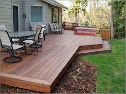 Patio Deck Ideas Backyard by Backyard Decking Designs 25 Best Ideas About Patio Deck Designs On