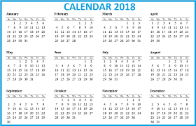 printable calendar of 2018 download 12 month printable calendar 2018 from january to december