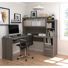 L Shaped Desk With Hutch Sutton L Shape Desk With Hutch