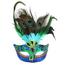 masquerade masks with feathers masquerade masks feather ebay