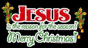 merry jesus is the reason for the season