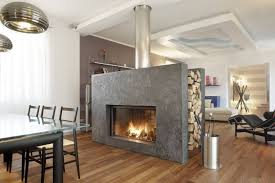 apartment exciting neutral stone fireplace ideas with wooden