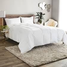Comforter Thread Count Classic 240 Threadcount Lightweight All Season White Down