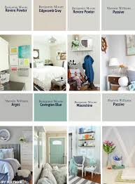 a list of the best neutral paint colors for our homes