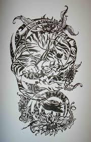 mandala thigh tattoo spiritualised dotstolines