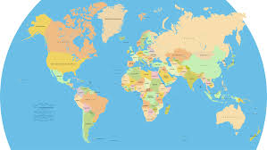 Us World Map by Detailed World Map