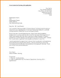 recent graduate cover letter sample bsn nurse cover letter