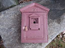 gamewell fire alarm call box antique cast iron u2022 295 00 picclick