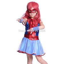 Spiderman Halloween Costumes Kids Girls Kids Spiderman Costume Halloween Book Week Party Fancy Dress