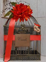 card birdcage for wedding vintage wedding decoration ideas from