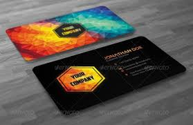 business cards creative modern polygon business card by badbugs graphicriver