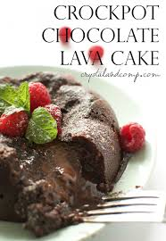 easy recipes crockpot lava cake recipe chocolate lava cake