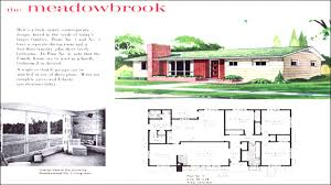 100 trend homes floor plans mid century modern ranch style