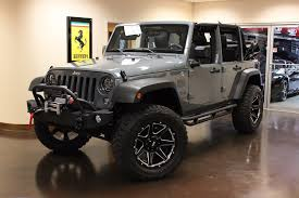 jeep wrangler 2017 grey used 2015 jeep wrangler stock p3877 ultra luxury car from merlin