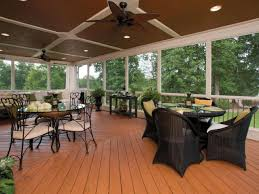 Outdoor Patio Ceiling Ideas by Screen Porch Ceiling Fans