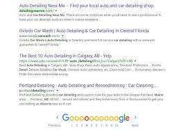 Car Interior Detailing Near Me Ranking 1 Page Websites In Google For Fun U0026 Profit My Sites