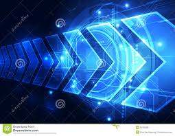 Light Cyber Vector Digital Speed Technology Abstract Background Illustration