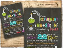 Event Invitation Card Science Party Invitations Theruntime Com