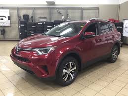 toyota awd cars new 2018 toyota rav4 le awd 4 door sport utility in sherwood park