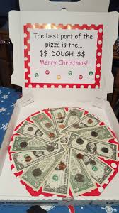 cash gifts creative ways to give cash dominos pizza gift idea