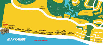 Mexico Resorts Map by Where To Kitesurf In Playa Del Carmen And The Riviera Maya
