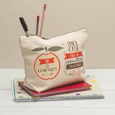 personalised pencil case for teachers by fromlucy