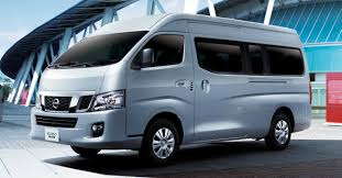 nissan urvan seat nissan nv350 urvan updated with new safety features