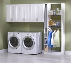 Laundry Room Shelving by Storage U0026 Organization White Metal Laundry Room Shelving With