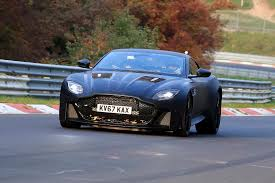 aston martin supercar next gen aston martin vanquish first spy shots gtspirit