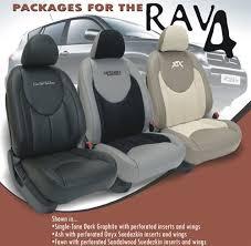 Upholstery Car Seat Toyota Rav4 Katzkin Leather Seat Upholstery Kit Shopsar Com