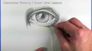 how to use blending stumps eye drawing youtube