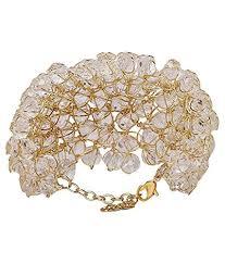 free size bracelet images Penny jewels designer gold plated fancy bracelet free size at jpg