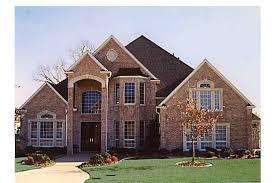 brick house plans with photos grand brick home hwbdo57137 new american from builderhouseplans com