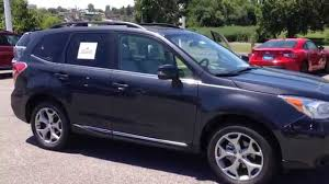 blue subaru forester 2015 2015 subaru forester 2 5i touring inquiry youtube