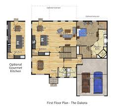 The Dakota Floor Plan by Statera Vestra Our Craft Built New Delaware Homes On Your