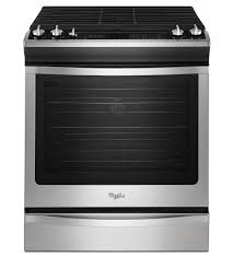 30 Stainless Steel Gas Cooktop Whirlpool 5 8 Cu Ft Front Control Gas Stove With Fan Convection