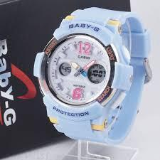 Jam Tangan Baby G baby g bga 210 biru muda 盪 jam tangan grosir termurah