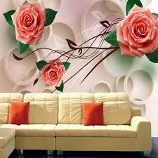 Livingroom Restaurant Compare Prices On 3d Wallpaper Rose Online Shopping Buy Low Price